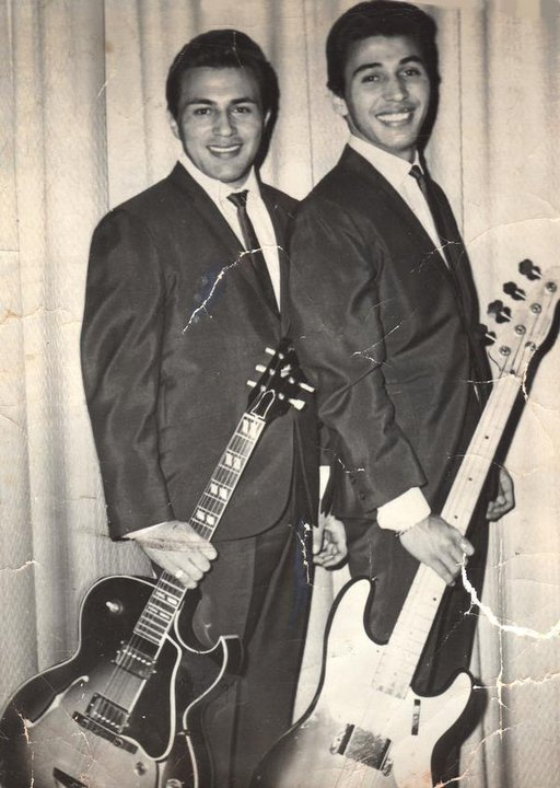 "Patrick and Candido ""Lolly"" Vasquez-Vegas, before the formation of Redbone"