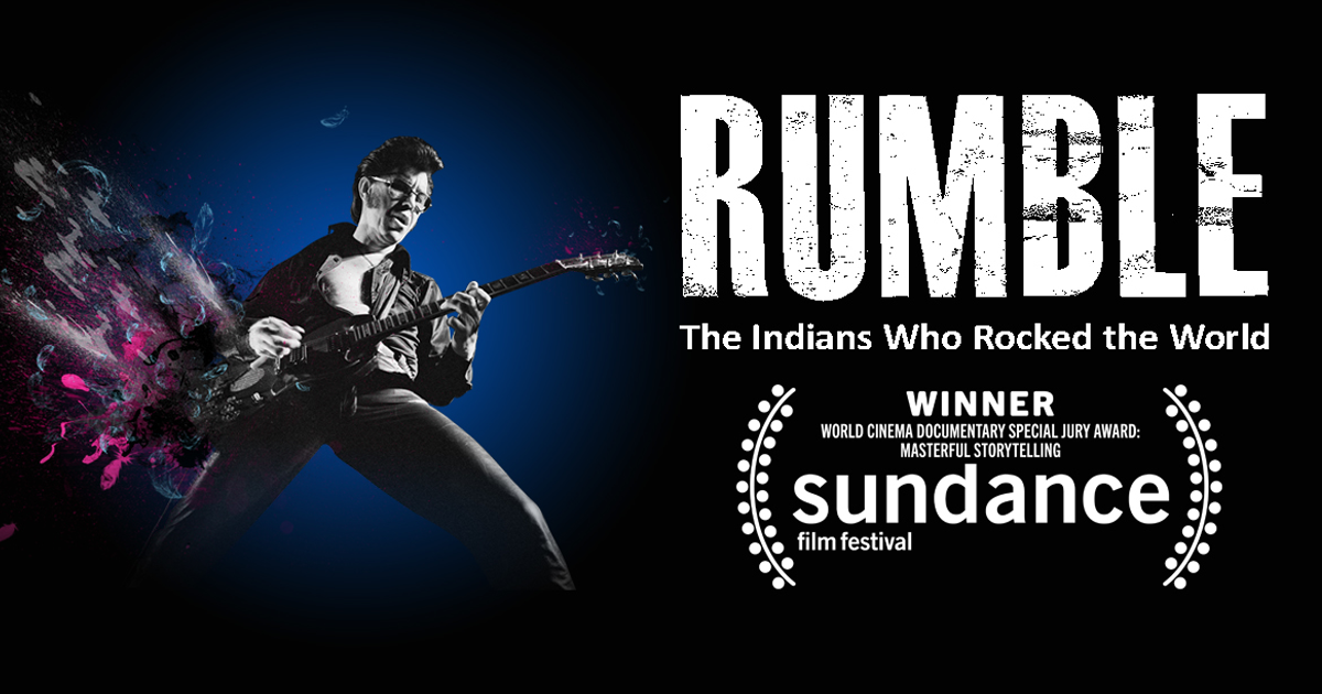 Redbone featured in the documentary  Rumble: Indians Who Rocked the World