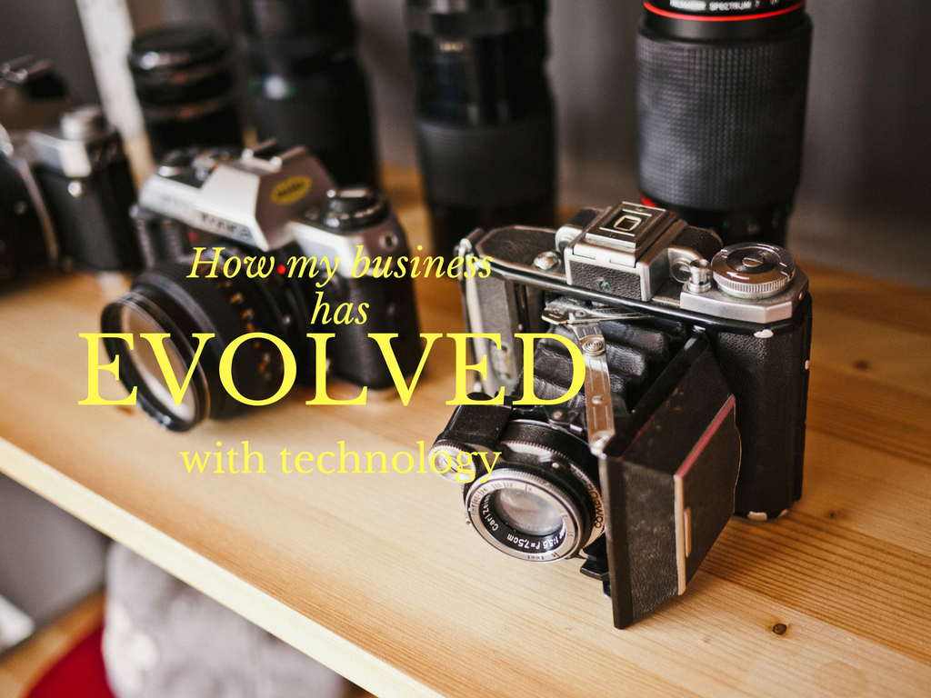 photography businesses evolve with technology