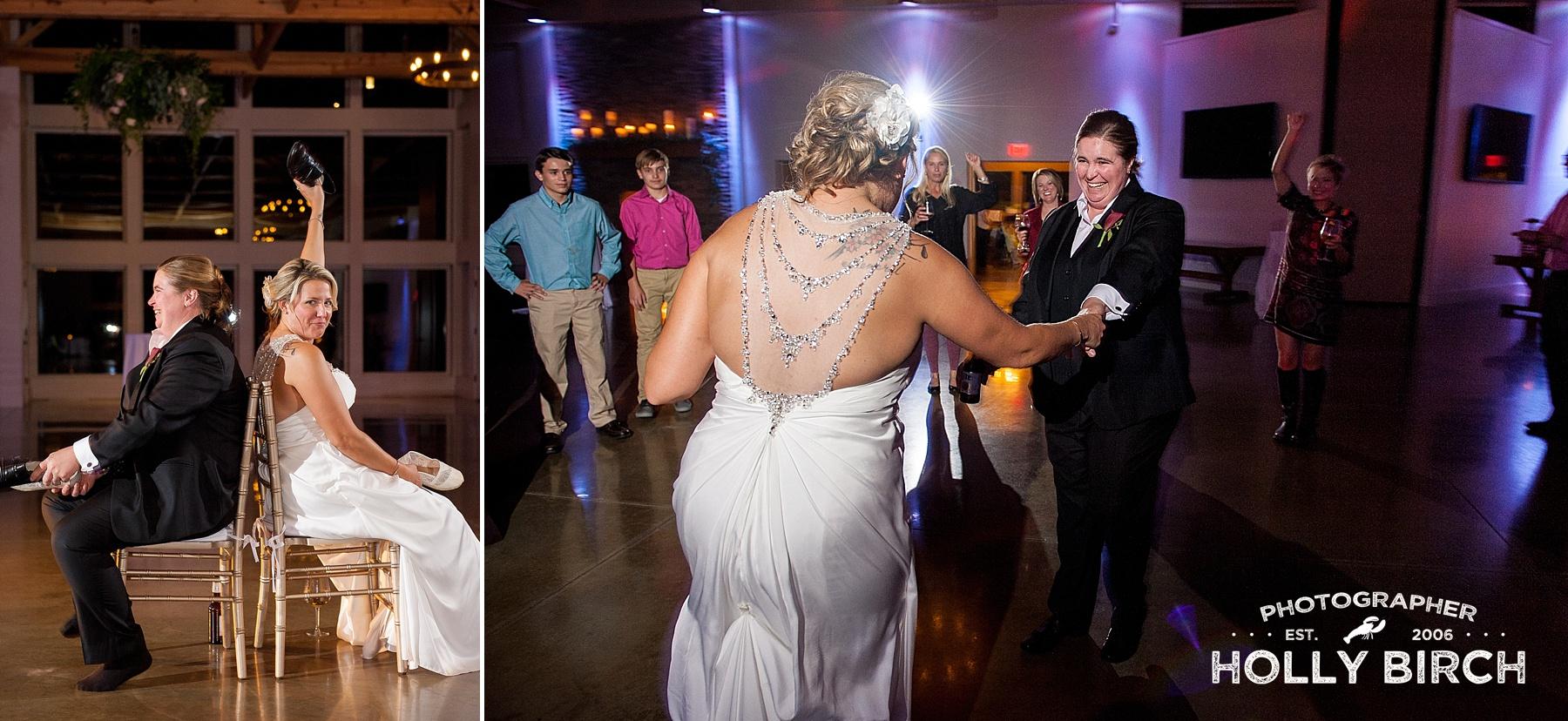 off-camera flash wedding photography
