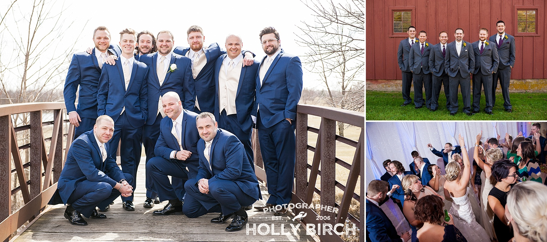 groomsmen and ushers group photos