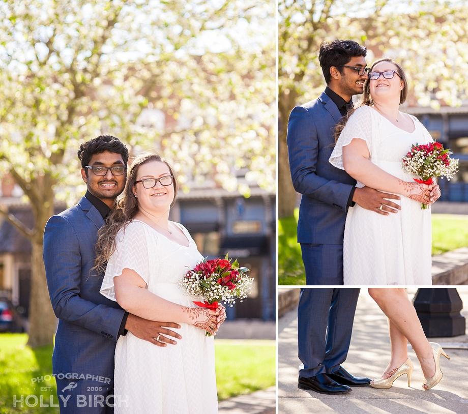 backlit romantic wedding images