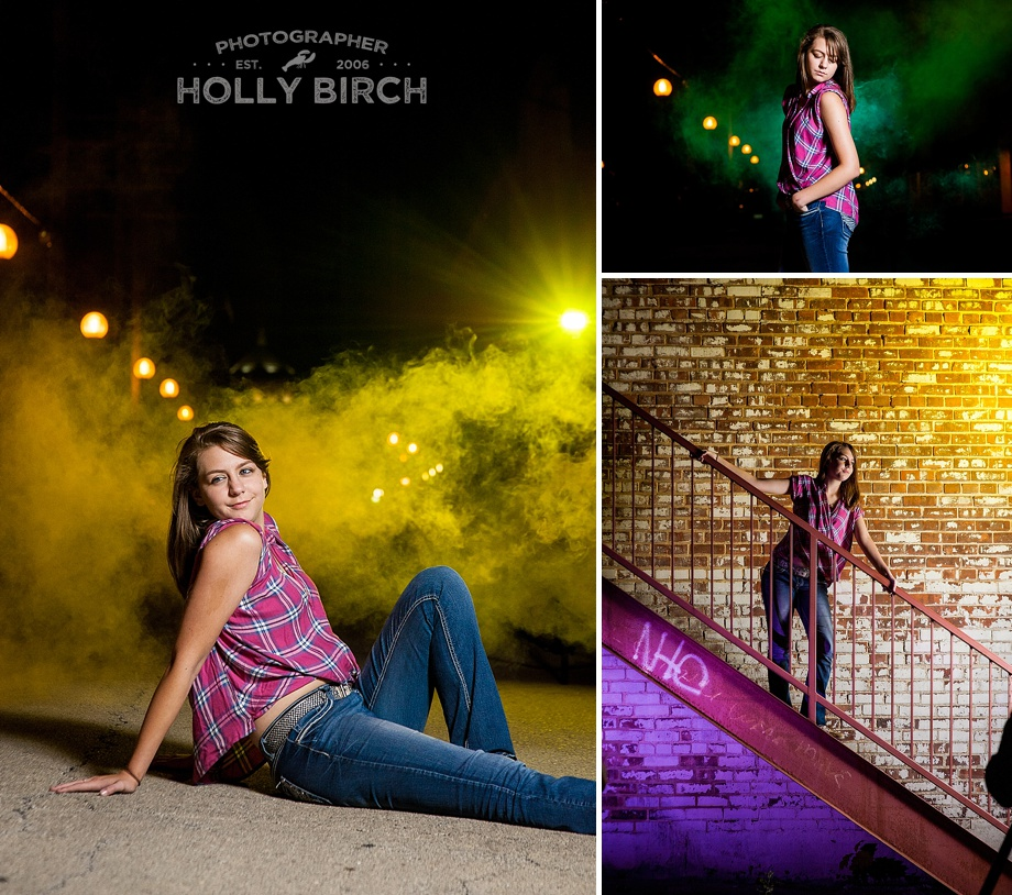 MagMod creative gels for relaxed senior session