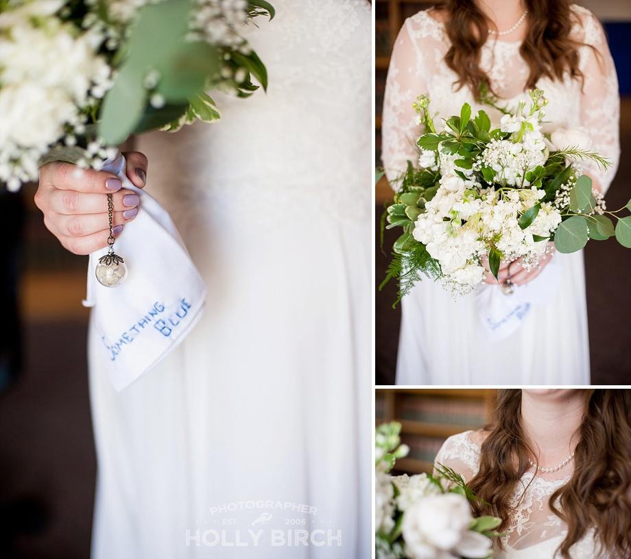 something blue courthouse wedding details