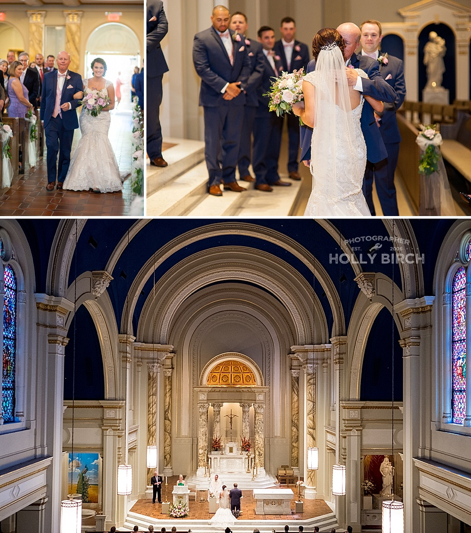 Catholic mass wedding ceremony