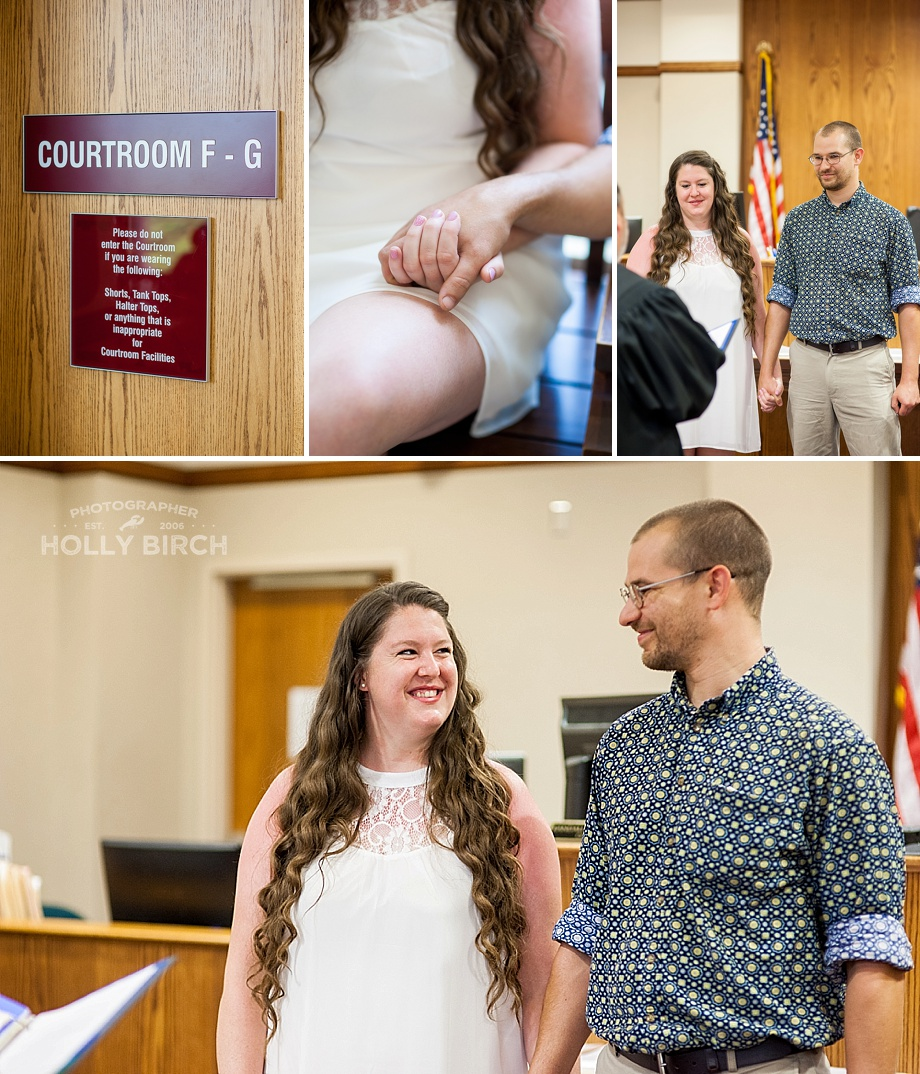 Champaign County courthouse wedding details