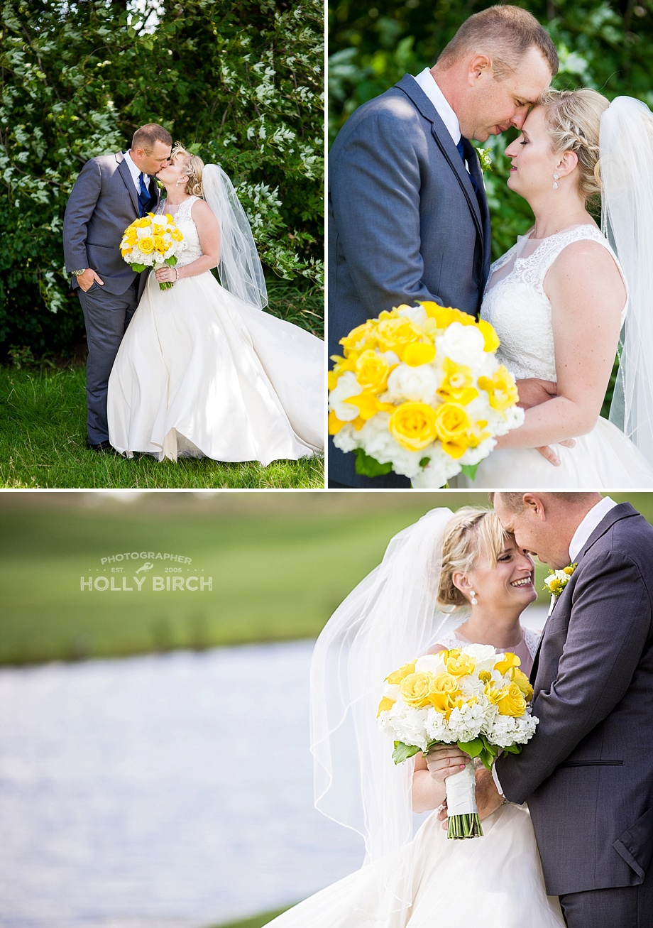 romantic poses for the newlyweds