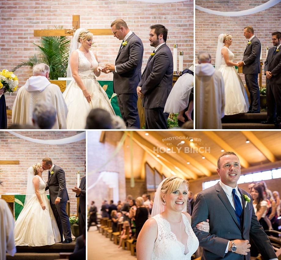 wedding ceremony in Naperville