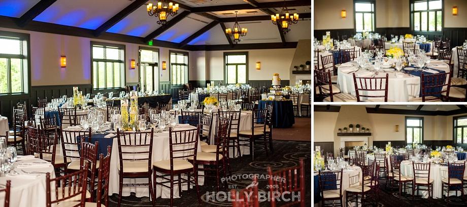 wedding reception at Mistwood Golf Club in Romeoville