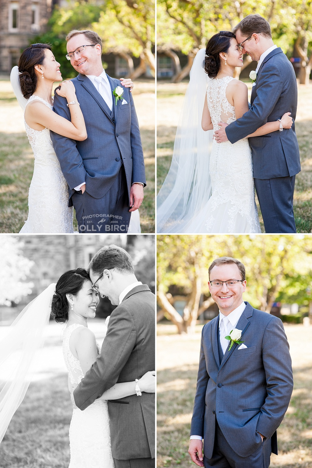 new Mr. & Mrs. bridal portraits