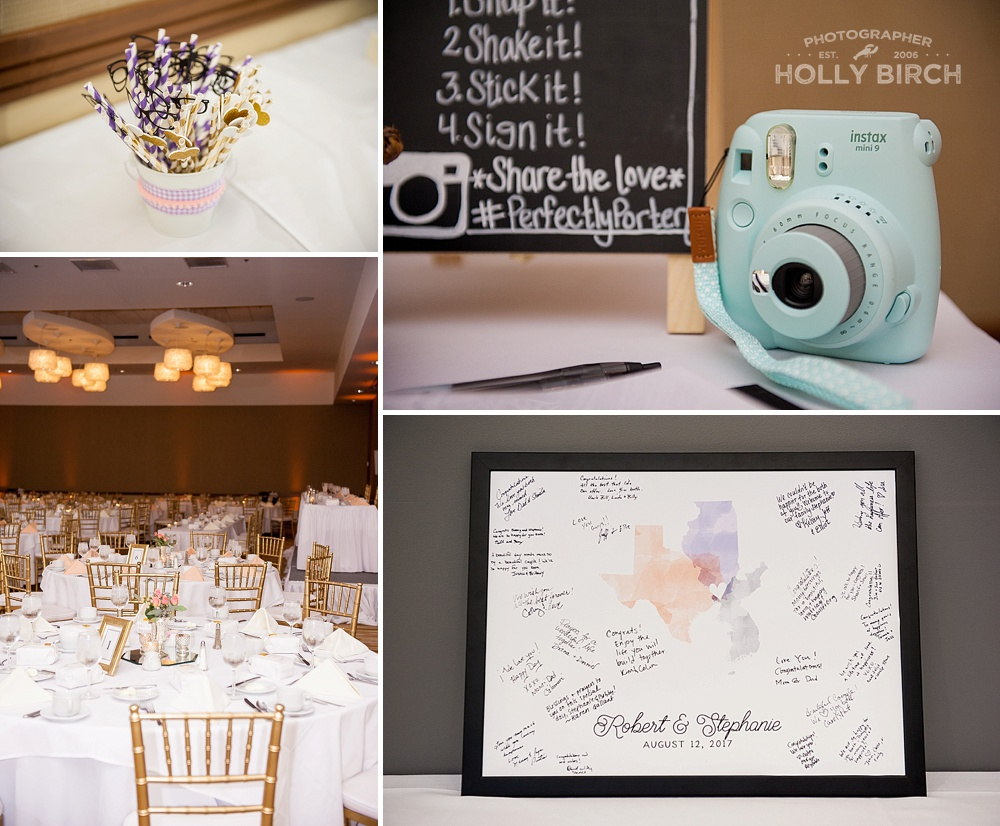 fun wedding reception details