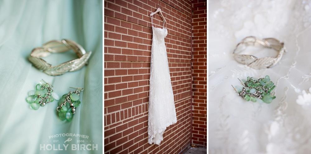 pastel green wedding details