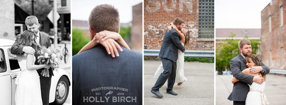 fun moving wedding photos