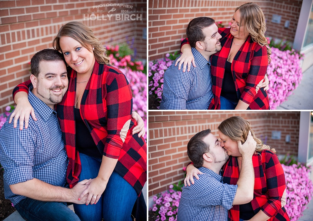 Champaign engagement and wedding photographer
