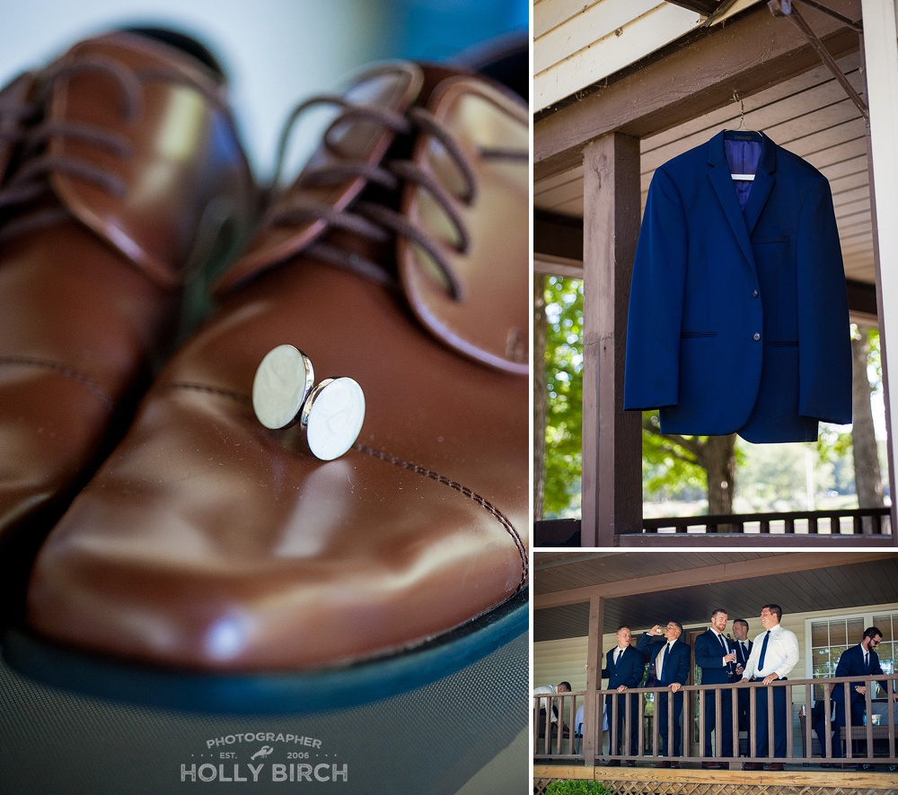 groom's dressing details