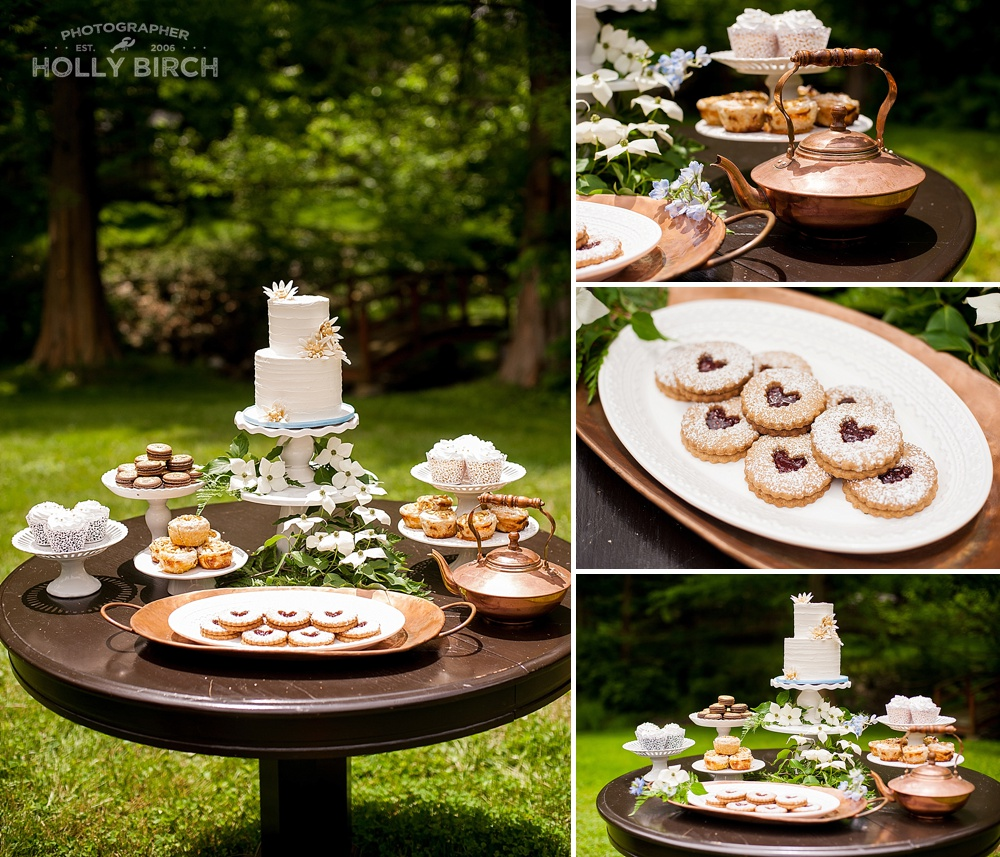 dessert table spread by Sugar by Sarah