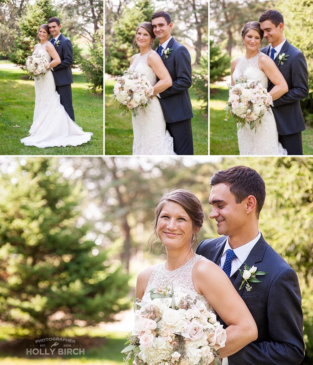 finding good light for wedding portraits