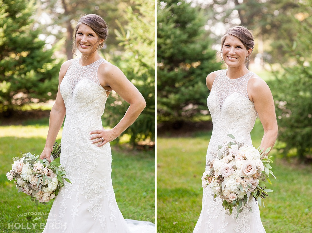 beautiful bride Jessie