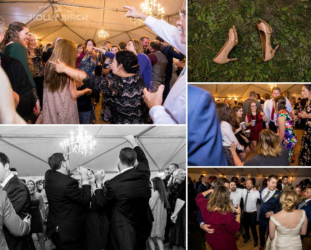 reception dancing photos
