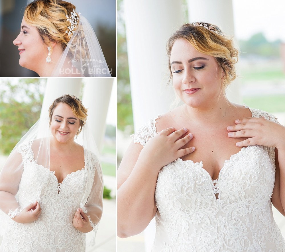 wedding veil looks and poses