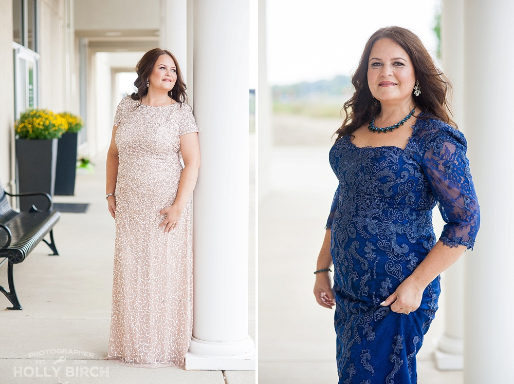 mother of the bride gown looks