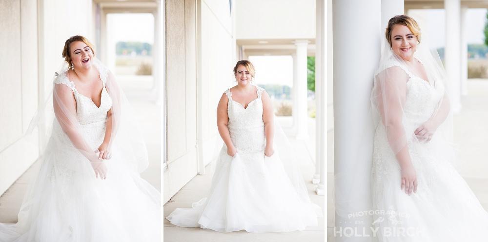 modern bridal gown looks