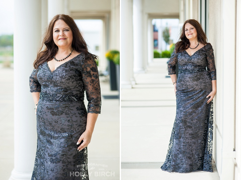 dary gray mother of the groom gown looks