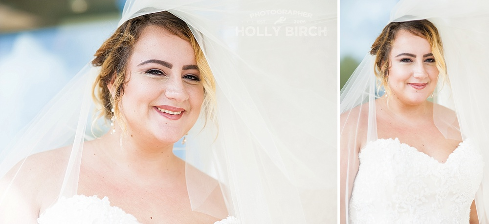 veil poses for brides