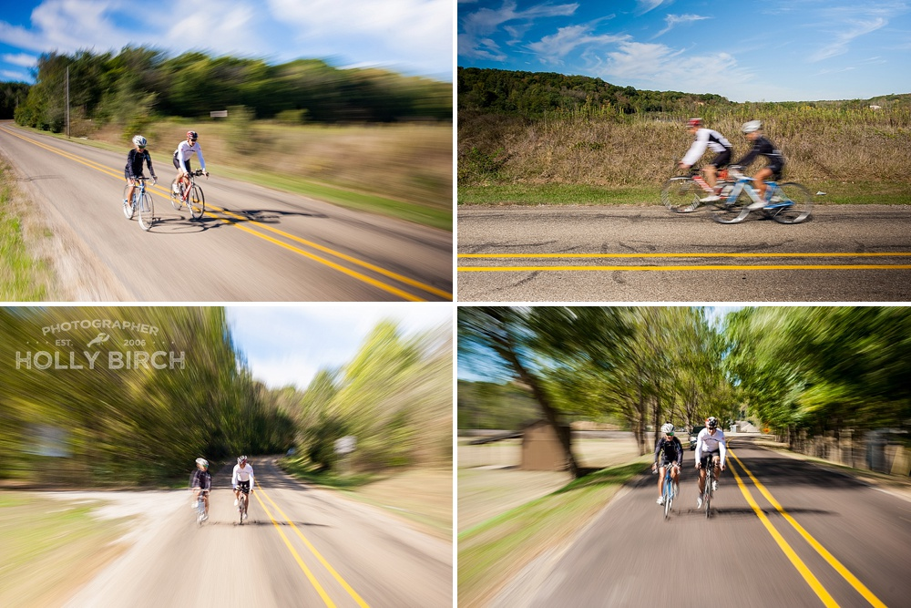 full sun cycling photos with motion