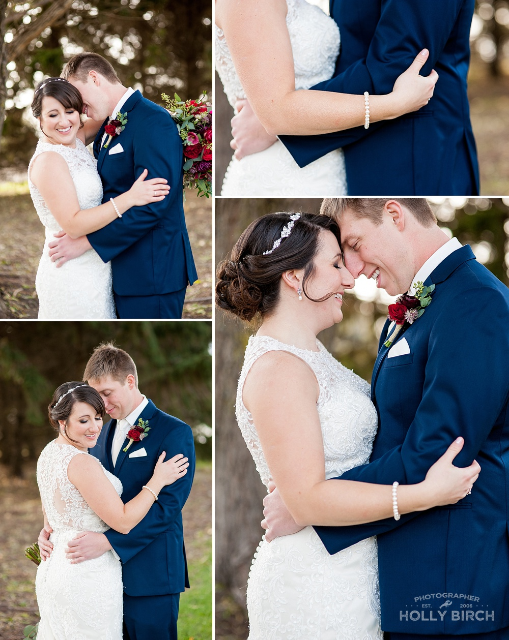 november fall wedding portraits