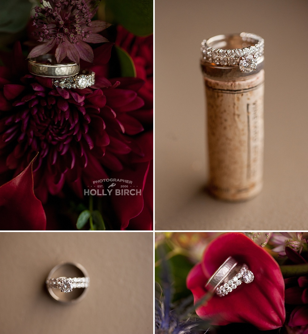 detailed ring images with corks and flowers