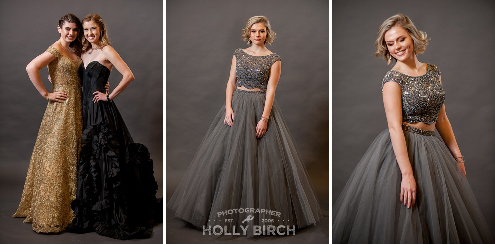 neutral color prom ballgown dresses