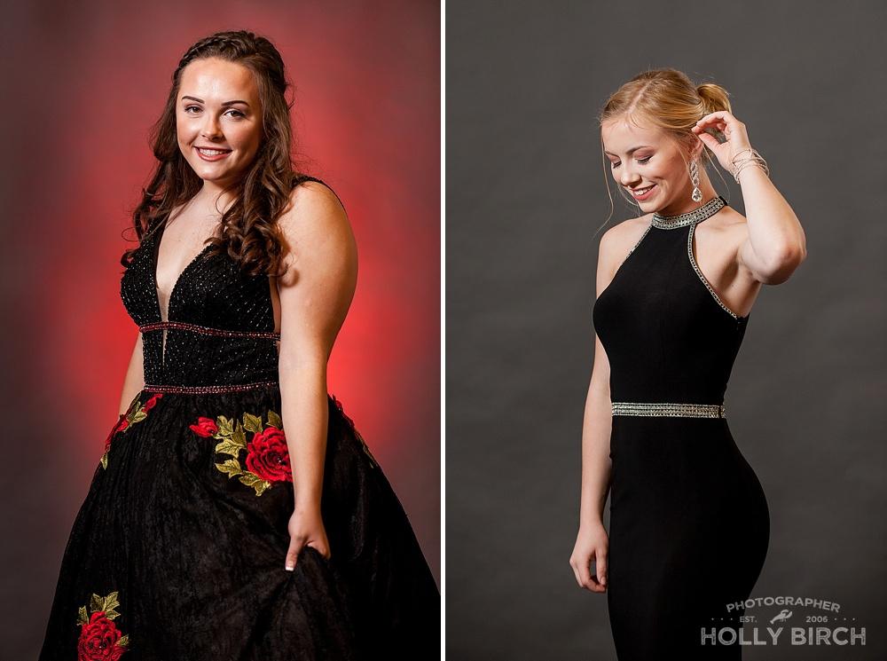black prom dress styles