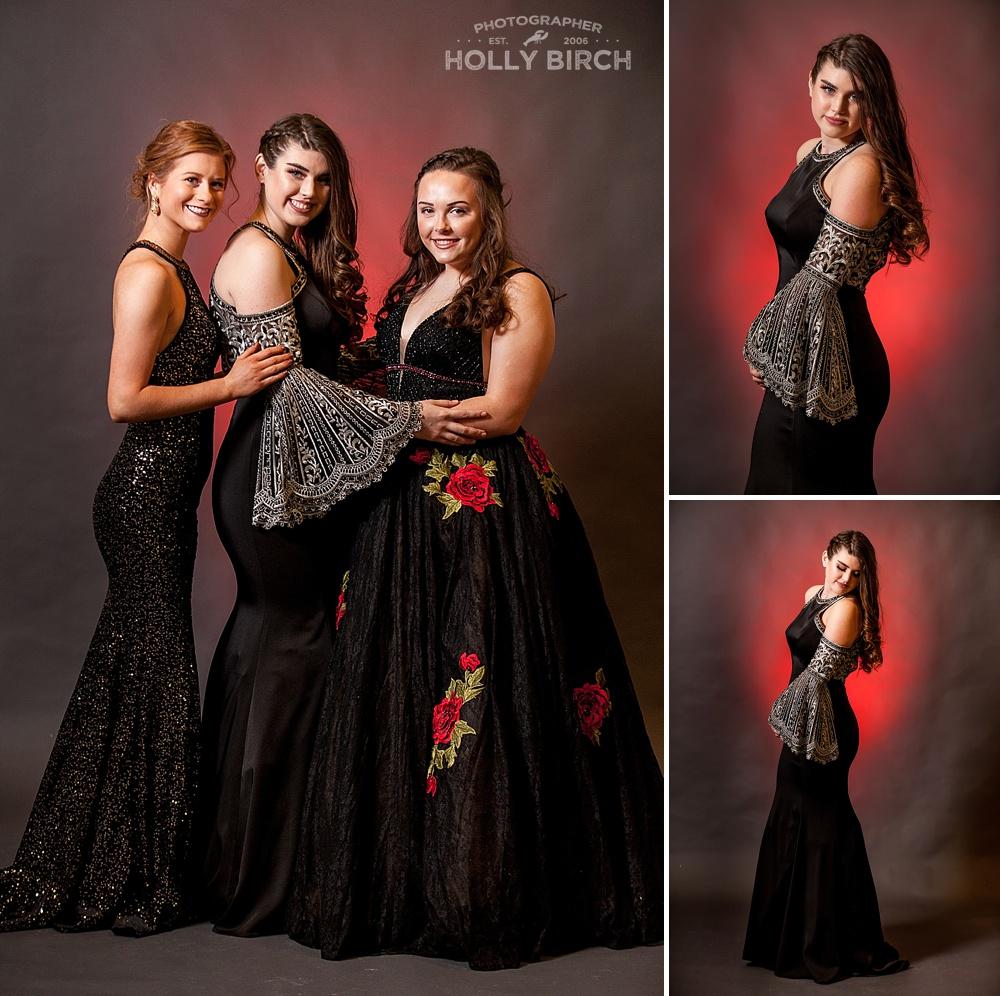 black prom dress gowns from M2 Urbana