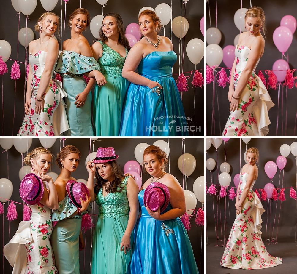colorful rainbow prom dress options