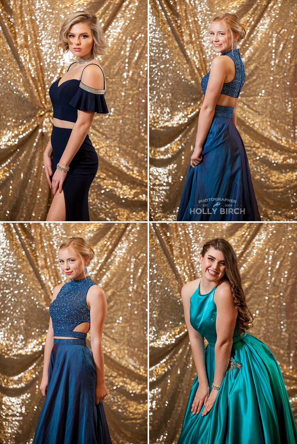 shades of blue cold shoulder prom dress styles