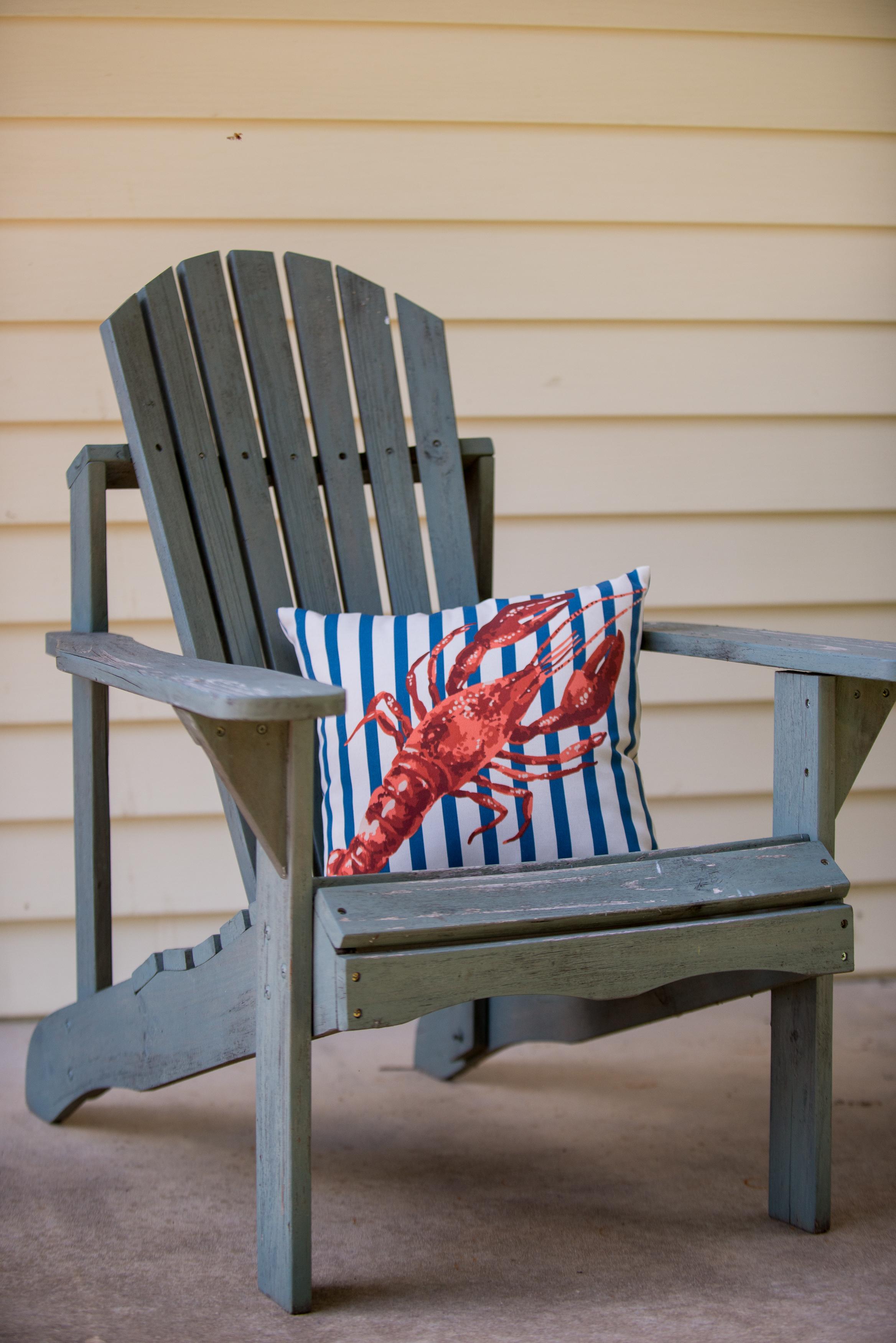 outdoor lobster pillows