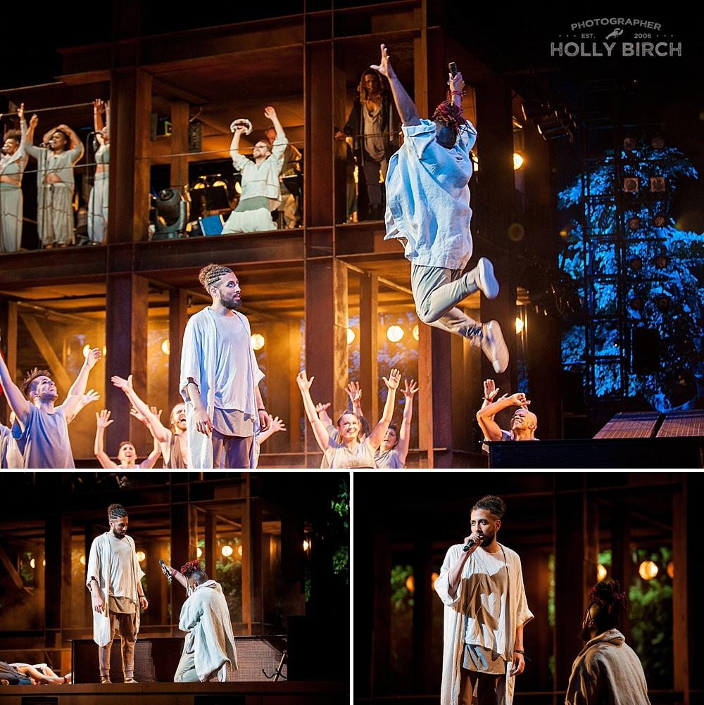Jesus Christ Superstar set at Chicago Lyric Opera