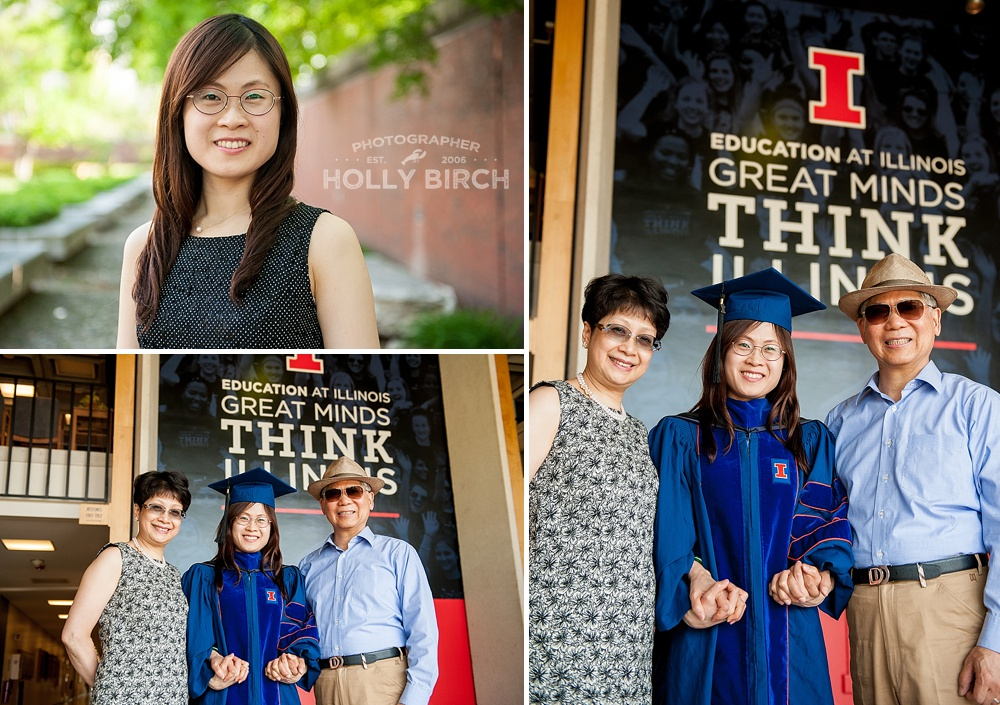 Think Illinois Education Building graduation photos
