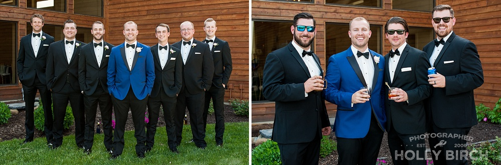 favorite groomsmen pose