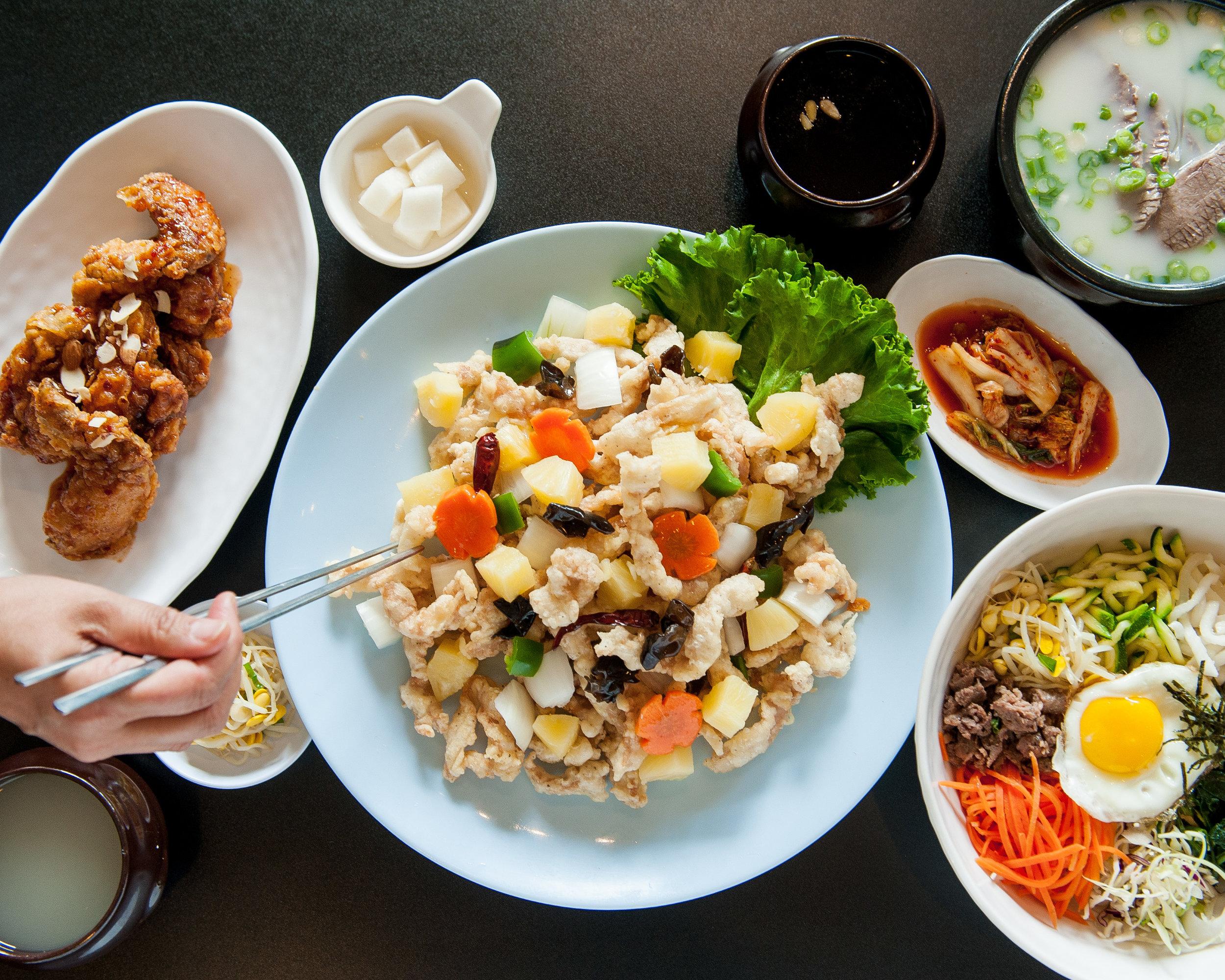 hero shot San Maru Korean restaurant