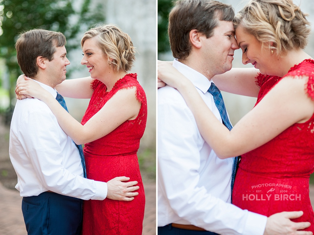 intimate engagement photos in Mahomet