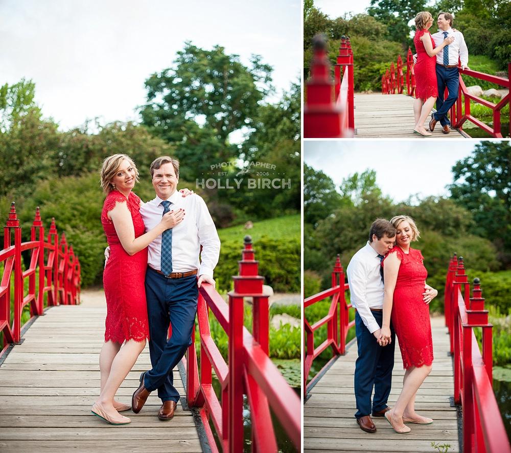 Red bridge photos at Lake of the Woods