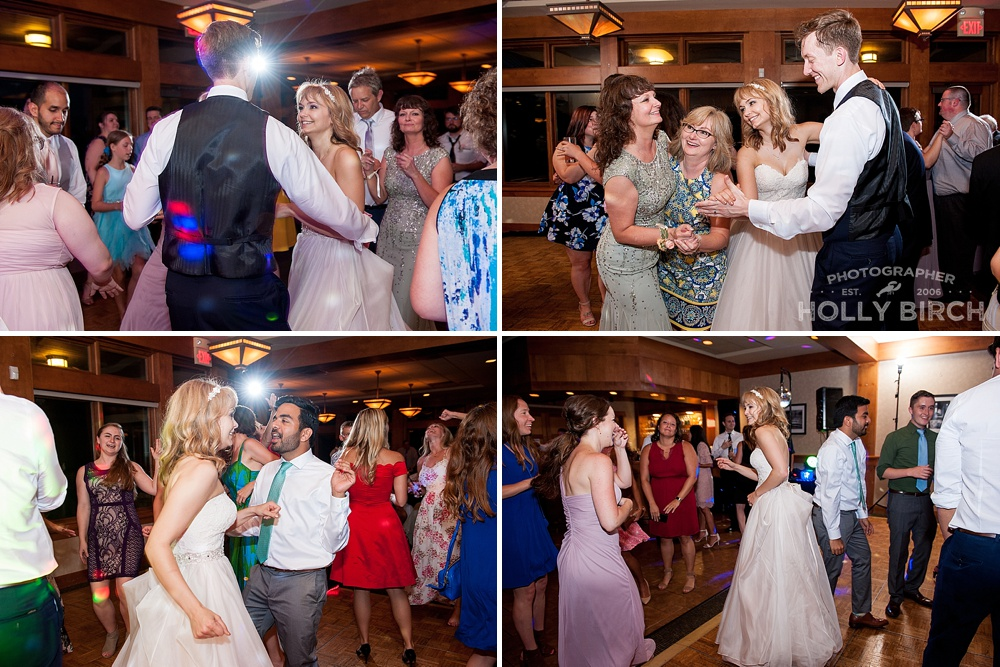 fun wedding day memories of dance floor