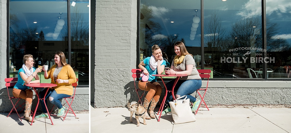 two friends started a business together