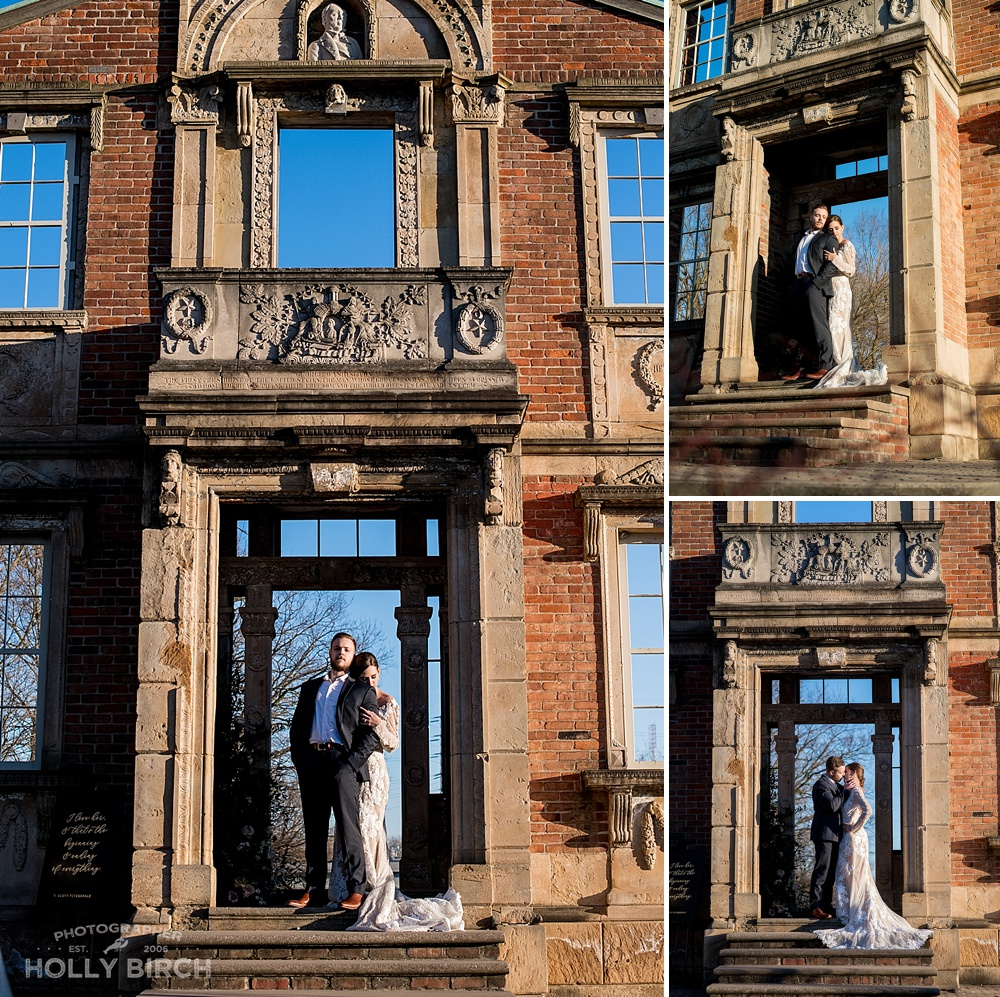 elopement at Heigold Facade