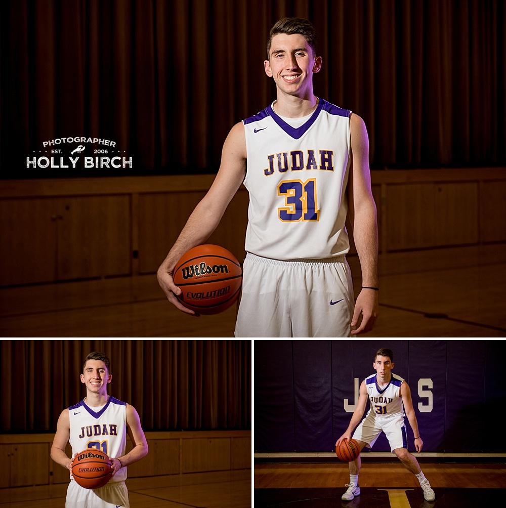 high school basketball senior photos