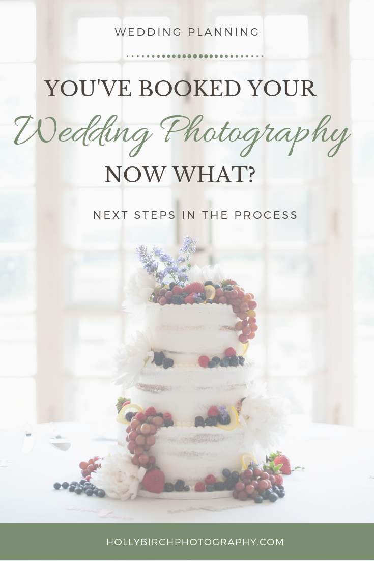 you've booked your wedding photography now what?