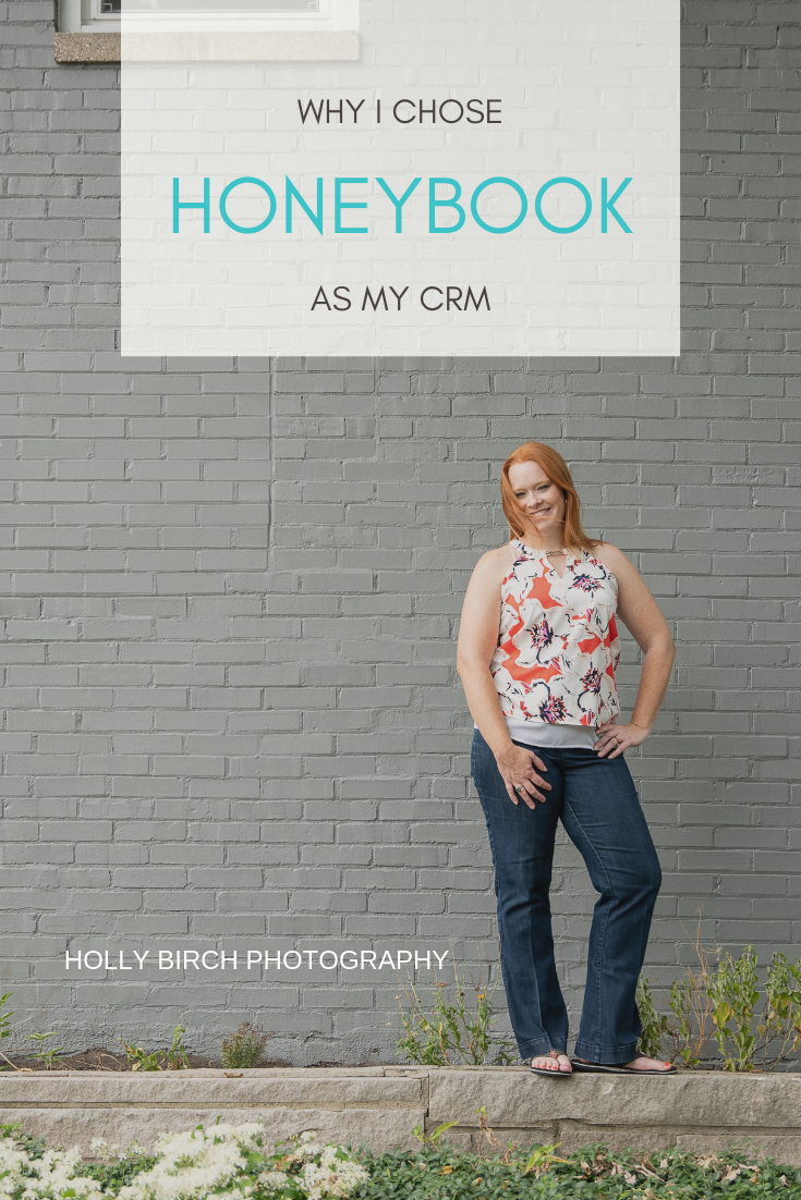 why I chose Honeybook as my CRM