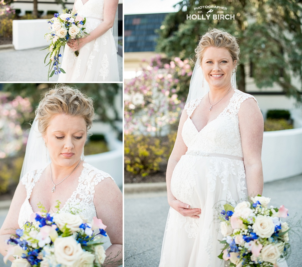 bridal maternity gown